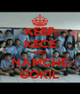 KEEP KECE AND NAMCHE GOKIL - Personalised Poster A4 size