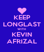 KEEP LONGLAST WITH KEVIN AFRIZAL - Personalised Poster A4 size