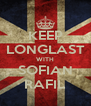 KEEP LONGLAST WITH SOFIAN RAFIL - Personalised Poster A4 size