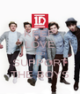 KEEP LOVE AND SUPPORT THE BOYS - Personalised Poster A4 size
