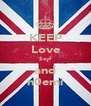 KEEP Love $eyf and n0emi - Personalised Poster A4 size
