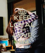 KEEP LOYAL AND LOVE HIM - Personalised Poster A4 size