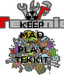 KEEP MAD AND PLAY TEKKIT - Personalised Poster A4 size
