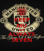 KEEP MU AND ALWAYS SEVEN - Personalised Poster A4 size