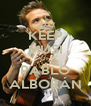 KEEP MUSI OF PABLO ALBORÁN - Personalised Poster A4 size