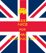 KEEP NICE FOR MRS CHIVINGTON - Personalised Poster A4 size