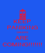 KEEP PANIKING DALEKS ARE COMING!!!!!!! - Personalised Poster A4 size