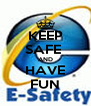 KEEP SAFE  AND HAVE FUN - Personalised Poster A4 size
