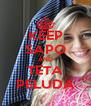 KEEP SAPO AND TETA PELUDA - Personalised Poster A4 size