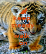keep  steady and  walk  on - Personalised Poster A4 size