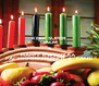 KEEP SUPER CALM & HAPPY KWANZAA  FACEBOOK FRIENDS &  FANS! - Personalised Poster A4 size