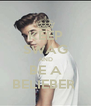 KEEP SWAG AND BE A BELIEBER  - Personalised Poster A4 size