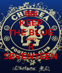 KEEP THE BLUE AND R SEVENTEEN - Personalised Poster A4 size