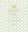 KEEP THE  OCEANS CLEAN ON - Personalised Poster A4 size