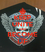 KEEP UNITE AND BECOME IJF - Personalised Poster A4 size