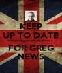 KEEP UP TO DATE FOLLOW @BECKYJNORFOLK FOR GREG NEWS - Personalised Poster A4 size