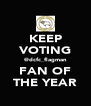 KEEP VOTING @dcfc_flagman FAN OF THE YEAR - Personalised Poster A4 size