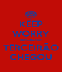 KEEP WORRY BECAUSE TERCEIRÃO CHEGOU - Personalised Poster A4 size
