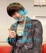 KEEP YOUR HANDS  OFF MY  BIAS !!! - Personalised Poster A4 size