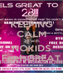 KEEPING CALM 28 with NOKIDS FeelsGREAT - Personalised Poster A4 size