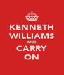 KENNETH WILLIAMS AND CARRY ON - Personalised Poster A4 size