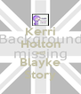 Kerri Holton and Blayke Story - Personalised Poster A4 size