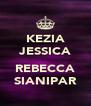 KEZIA JESSICA  REBECCA SIANIPAR - Personalised Poster A4 size