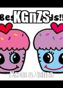 KGnZS Kezia & Zahra - Personalised Poster A4 size