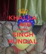 KHALSA   AID FATEH SINGH HUNDAL - Personalised Poster A4 size