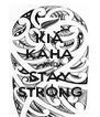 KIA KAHA AND STAY STRONG - Personalised Poster A4 size