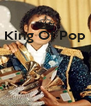 King Of Pop       - Personalised Poster A4 size