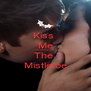 Kiss  Me Underneath  The  Mistletoe - Personalised Poster A4 size