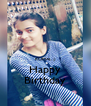 KOMAL  ;) Happy Birthday - Personalised Poster A4 size
