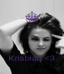 Krisbian <3 - Personalised Poster A4 size