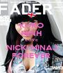 KURO MINH LOVE NICKI MINAJ FOREVER - Personalised Poster A4 size