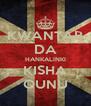 KWANTAR DA HANKALINKI KISHA QUNU - Personalised Poster A4 size