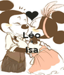 Léo & Isa  - Personalised Poster A4 size
