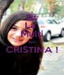 La  Mulţi Ani CRISTINA !  - Personalised Poster A4 size