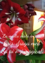 """""""La multa viata in ani!"""" Cris, draga mea Sa ai o zi magica!. - Personalised Poster A4 size"""