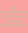 La PrăjiturEla 200 Like-uri sa  inceapa PETRECEREA - Personalised Poster A4 size