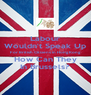 Labour Wouldn't Speak Up For British Citizens in Hong Kong How Can They In Brussels? - Personalised Poster A4 size