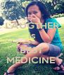 LAUGTHER is the BEST MEDICINE  - Personalised Poster A4 size