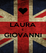 LAURA E GIOVANNI  - Personalised Poster A4 size