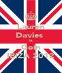 Lauren Davies  Is Goin IBIZA 2012 - Personalised Poster A4 size