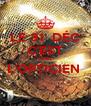 LE 31  DÉC C'EST CHEZ L'OPTICIEN   - Personalised Poster A4 size