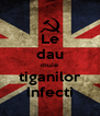 Le dau muie tiganilor infecti - Personalised Poster A4 size