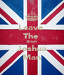 Leave  The  Bitch Joshua Man - Personalised Poster A4 size