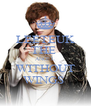 LEETEUK THE  ANGEL WITHOUT WINGS  - Personalised Poster A4 size