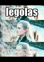 legolas consegue ser a graça do filme pq é lindo dmais - Personalised Poster A4 size