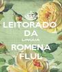 LEITORADO  DA LINGUA ROMENA FLUL - Personalised Poster A4 size